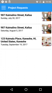 TurnoverBnB Vacation Rental Cleaning Mobile App Project Requests