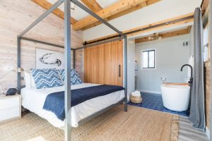 fire island airbnb bedroom