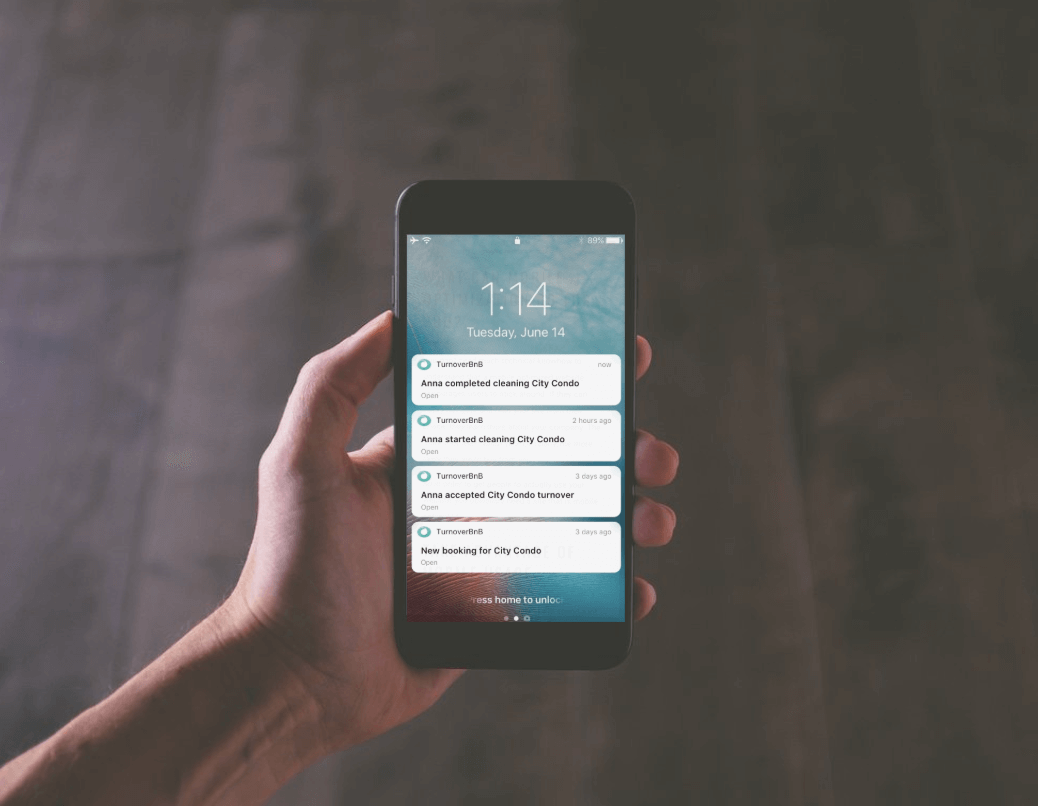 TurnoverBnB mobile app