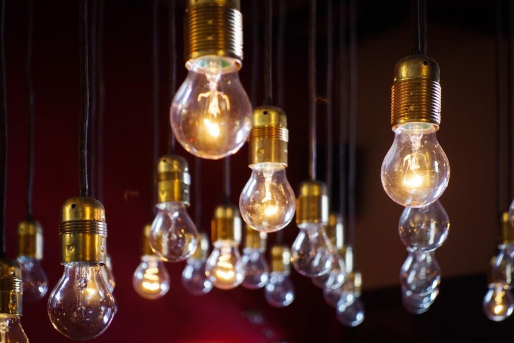 Reblace bulbs with LED lights. Photo by Diz Play on Unsplash