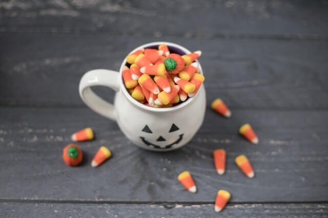 Halloween candy. Photo by Sarah Gualtieri on Unsplash.
